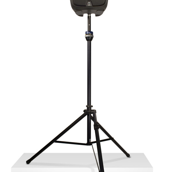 ultimate support ts 99bl tall telelock speaker stand with leveling leg. Black Bedroom Furniture Sets. Home Design Ideas